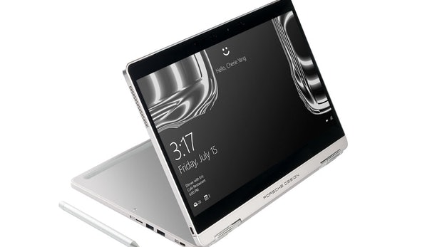 Windows-10-Notebook im Porsche-Design: Schickes 2-in-1-Gerät Book One vorgestellt