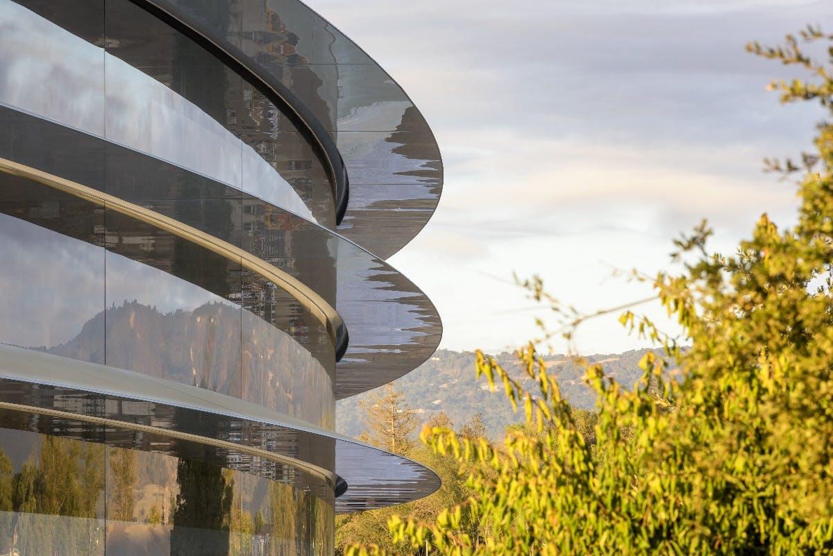 Zu viel Glas im Apple Park: Das neue Hauptquartier hat einen schmerzhaften Nachteil