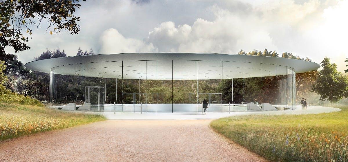 Apple Park: Alles in allem ist Norman Foster zufrieden mit seinem Werk. (Bild: Apple)