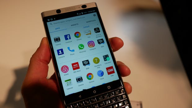 Blackberry Keyone. (Foto: t3n)