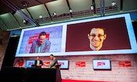 """Cebit 2017: Edward Snowden erklärt, was """"America first"""" für deine Daten bedeutet"""