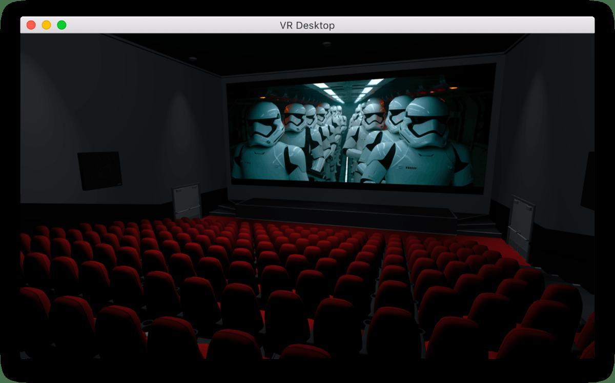 VR Desktop. (Bild: Cindori)