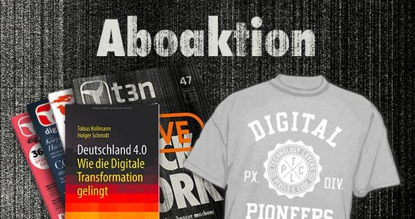 """Die digitale Tranformation meistern – 30 x """"Deutschland 4.0"""" im Abo-Bundle"""