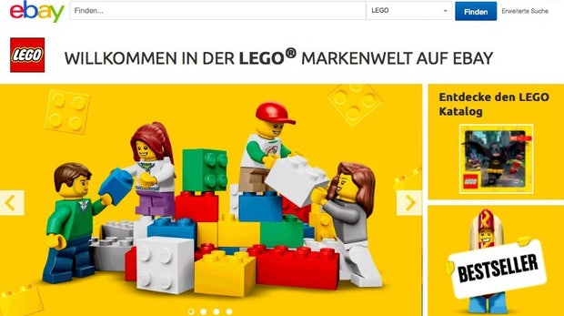 Ebays Partnerprogramm für Marken startet Lego-Markenwelt