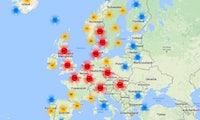 Karte für Schnellladestationen: Wo du dein Elektroauto in Europa laden kannst