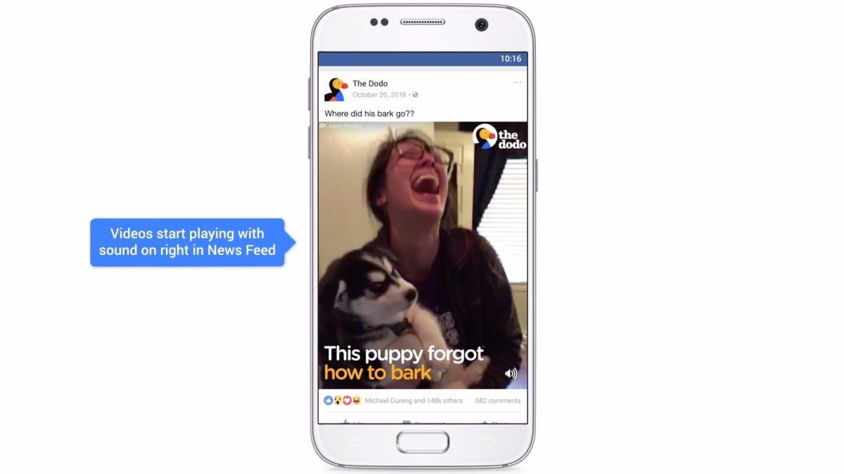 Facebook-App spielt Videos automatisch mit Sound ab – so stellt ihr ihn aus