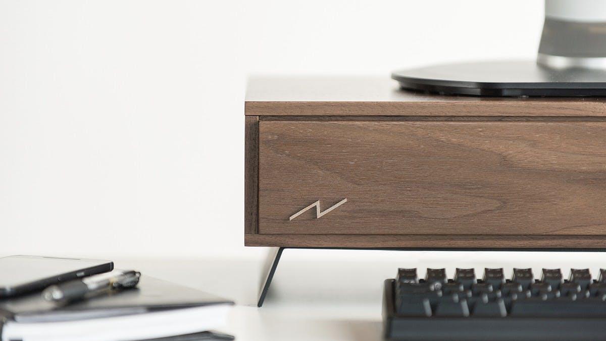 Holzgehäuse: So schick kann ein Desktop-Rechner aussehen