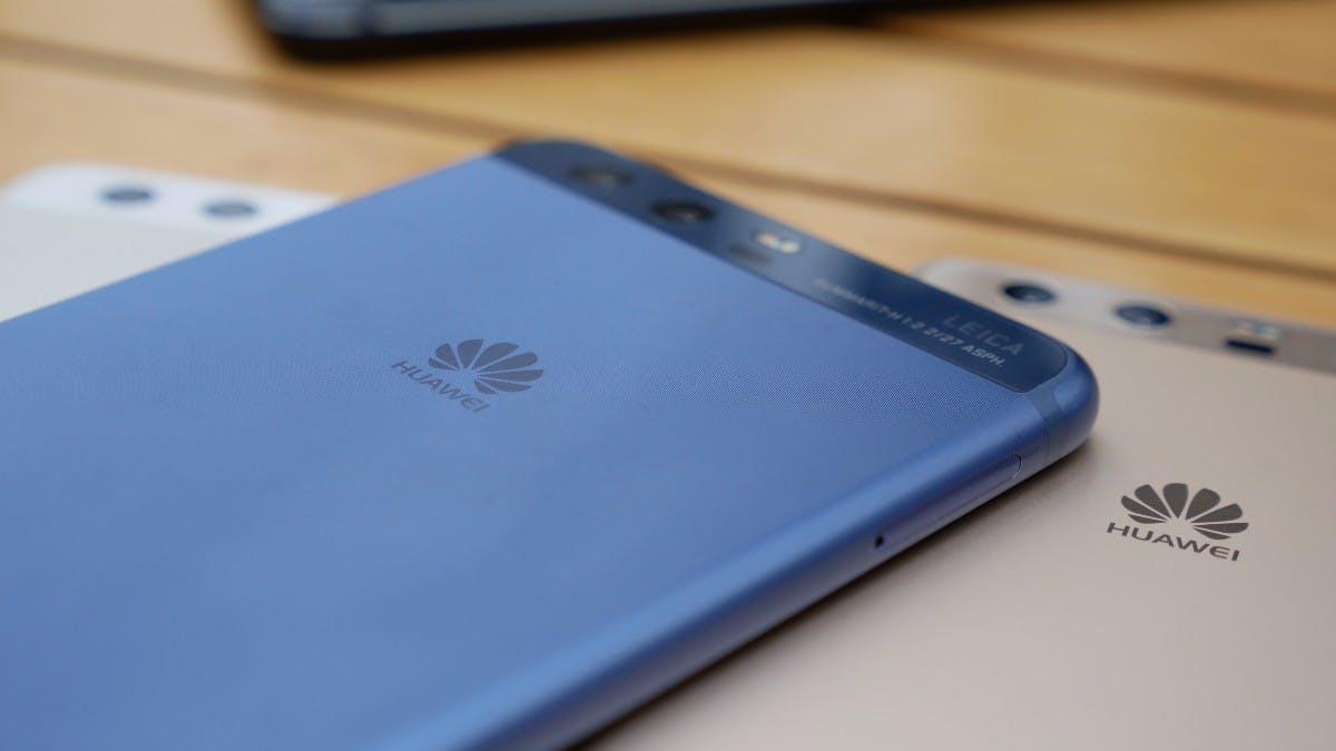 Huawei P10 in Blau. (Foto: t3n)
