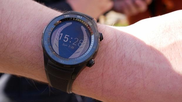 Statt Touchdisplay: Huawei untersucht alternative Smartwatch-Bedienung