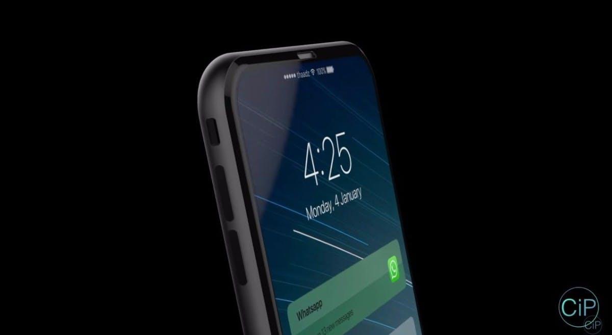 iPhone-8-Konzept. (Bild: Concepts-iPhone)
