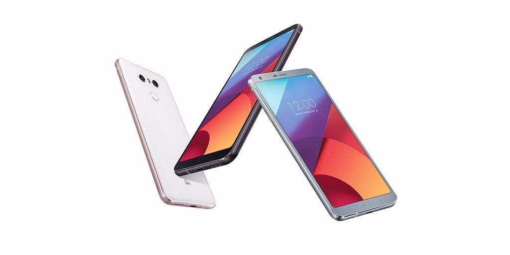 LG G6 ist offiziell: Das neue Topmodell ist fast rahmenlos und wasserdicht