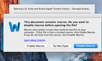 Word am Mac: Makro-Malware greift erstmals gezielt Apple-Nutzer an