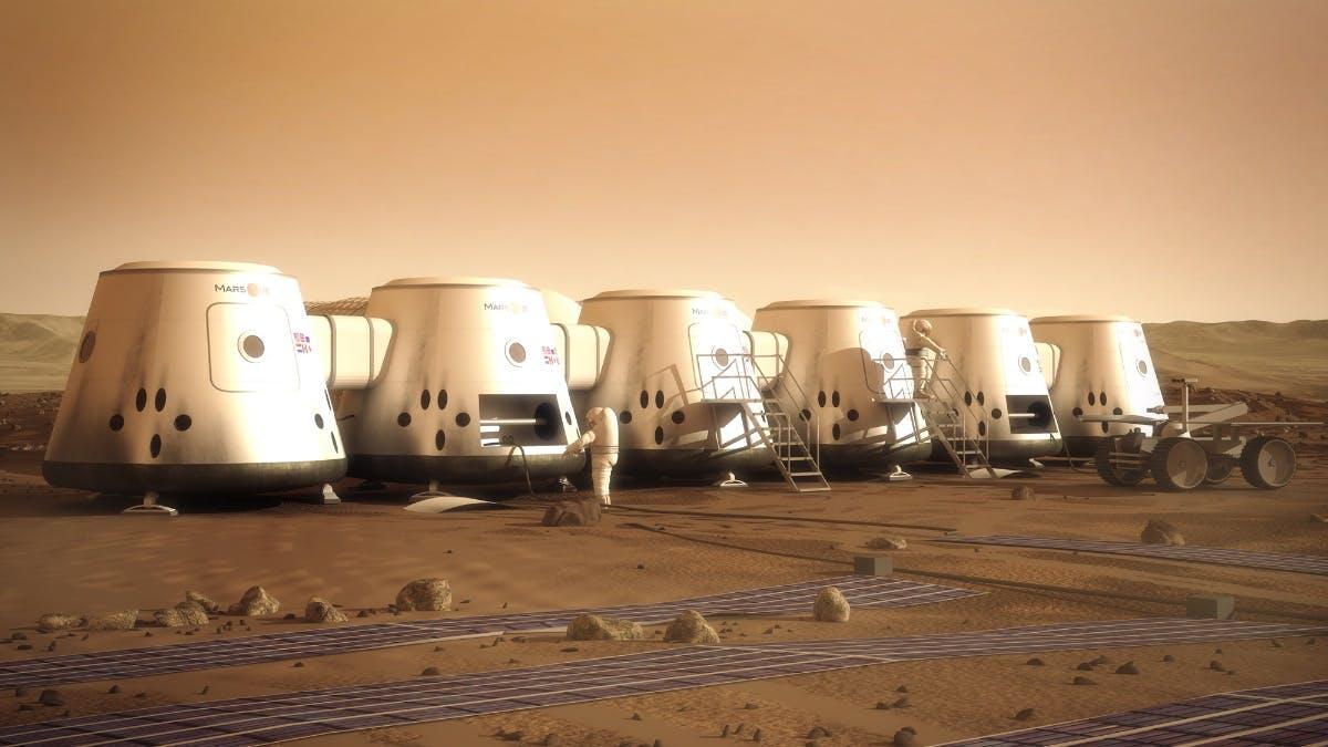 Mars One wollte die erste menschliche Kolonie auf dem Roten Planeten errichten. Das Projekt ist hochumstritten – und nun pleite. (Foto: Mars One)
