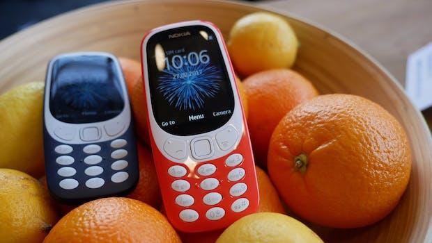 Das Nokia 3310 (2017). (Foto: t3n)