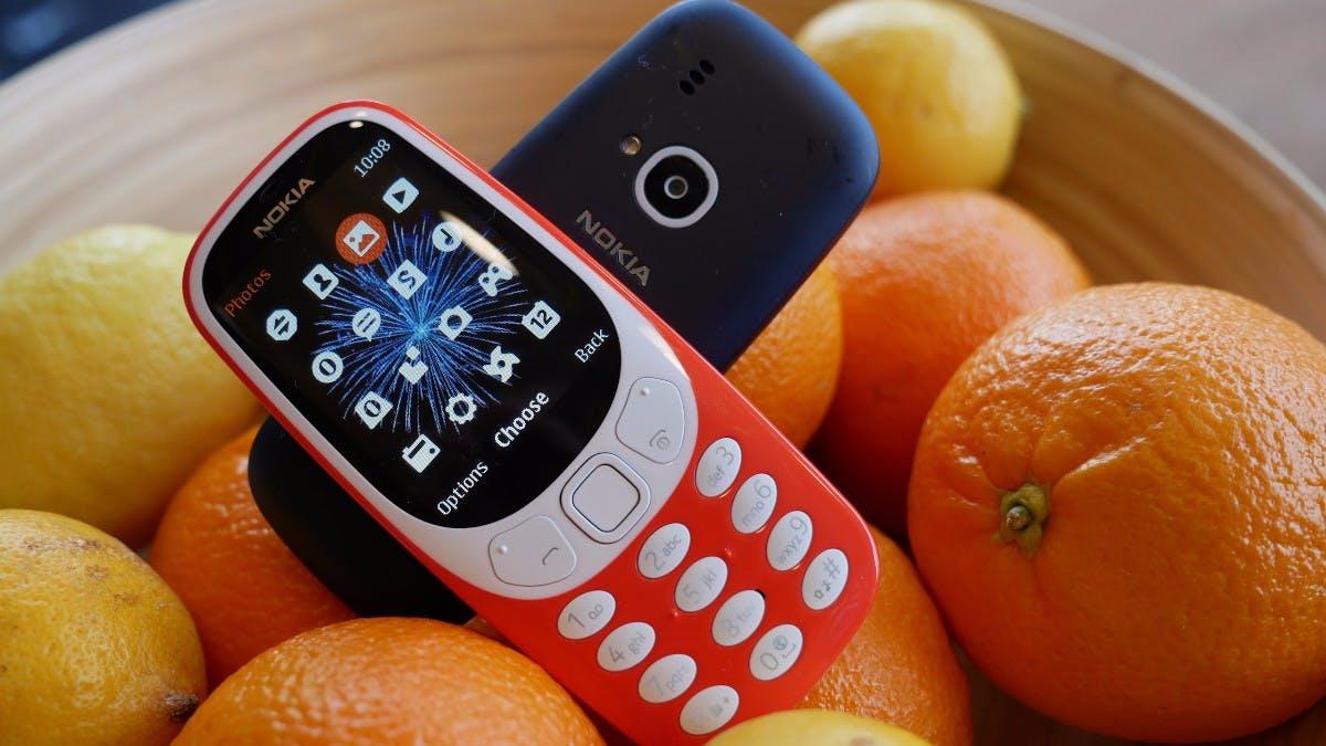 Nokia 3310: Das Kulthandy ist zurück –mit Snake und 25 Tagen Laufzeit