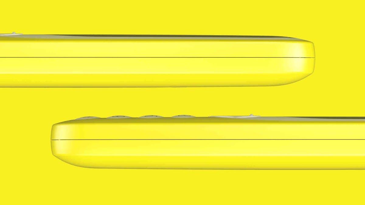 Das neue Nokia 3310  ist schlanker und runder als der Vorgänger. (Bild: Nokia