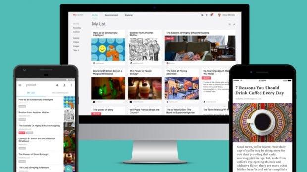 Pocket ist seit 2015 im Mozilla-Browser Firefox integriert. (Bild: Mozilla)
