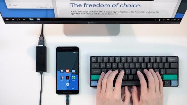 Remix OS: Diese Android-Version macht Smartphones zum Desktop-PC