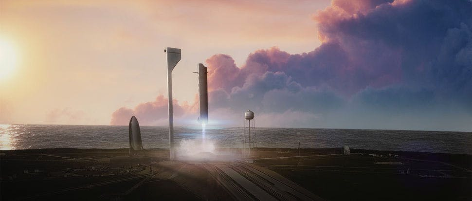 Elon Musk: SpaceX will schon 2018 Weltraum-Touristen auf Mond-Rundflug schicken
