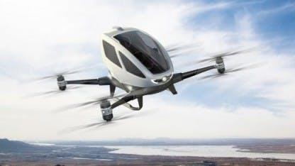 In Dubai kannst du bald mit dem Drohnen-Taxi abheben