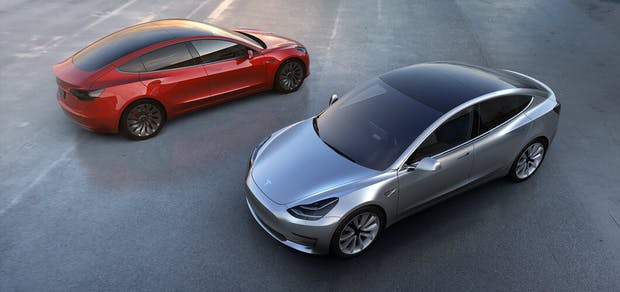 Tesla Model 3: Basismodell erscheint in 6 Monaten für 35.000 US-Dollar