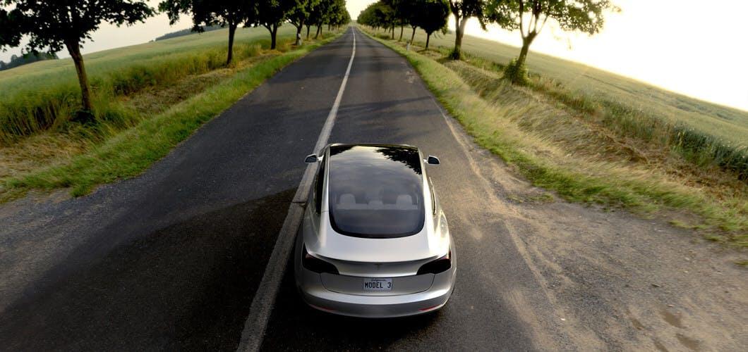 Tesla Model 3: Bald geht es los. (Foto. Tesla)