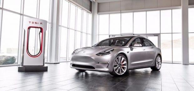 Tesla Model 3. (Foto. Tesla)
