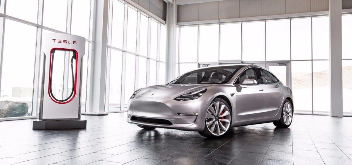 Produktionsziele verschoben: Tesla Model 3. (Foto: Tesla)