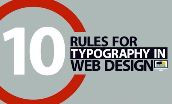 Typografie-Regeln im Web-Design: Youtube-Video zeigt, worauf du achten solltest