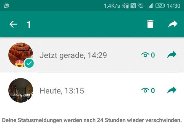 Whatsapp Status: Tipps und Tricks für den Snapchat-Klon