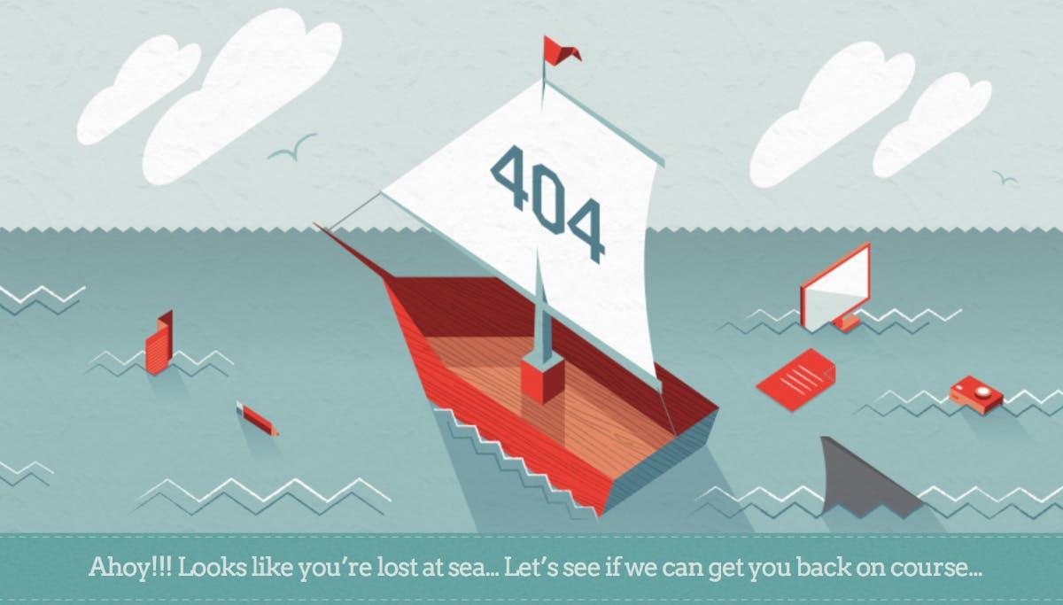 404 Error! Diese kreativen Fehlerseiten sind zum Totlachen