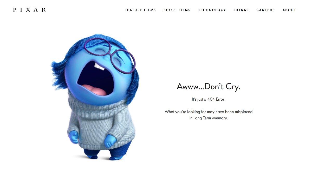 Pixar schickt eine Figur aus seinen legendären Animiationsfilmen ins Nirvana. (Screenshot: pixar.com)