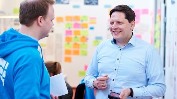 Autonome Roboter, Startups und digitales Labor: Tim Rudolph von Hermes im Interview