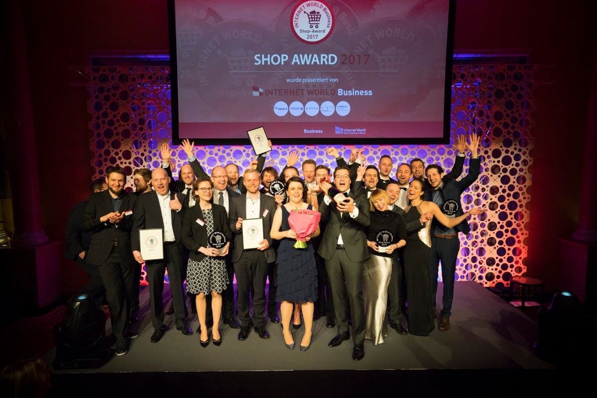 Internet World: Das sind die Gewinner-Shops des Internet-World-Business-Shop-Award 2017
