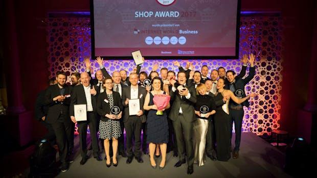 Internet World: Das sind die Gewinner-Shops des Internet-World-Business-Shop-Award 2017