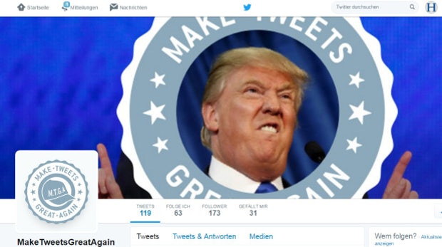 Make Tweets Great Again: Initiative spendet für jeden Trump-Tweet 10 Dollar für die Meinungsfreiheit