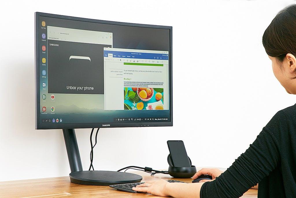 Wie Continuum: Samsung Dex verwandelt Galaxy S8 in einen Desktop-PC