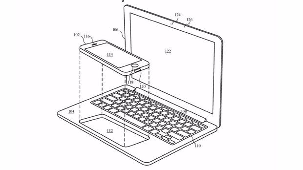 Apple-Patent beschreibt iPhone und iPad als Rechenzentrale fürs Macbook