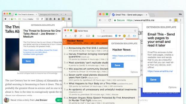 Erweiterungen für alle großen Browser entwickeln: Extension-Boilerplate hilft euch dabei