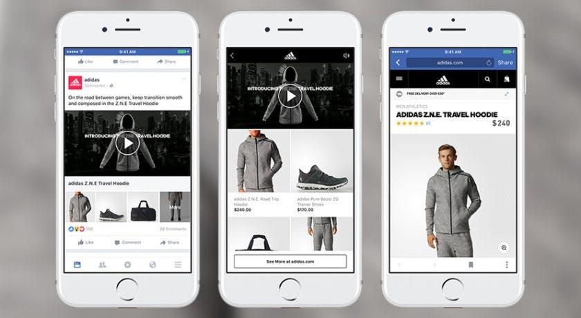Facebook Collection: Dieses neue Werbeformat soll mehr Leute in euren Shop locken