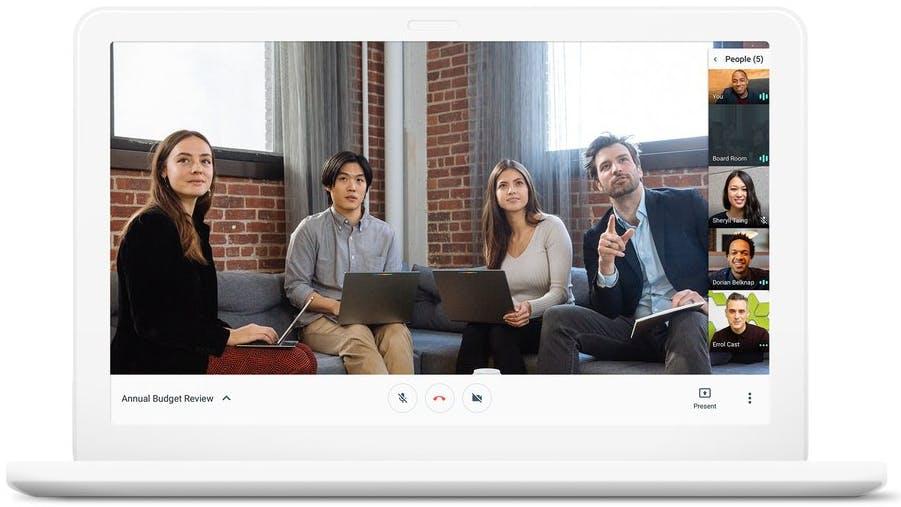 Die neuen Hangouts: Auch Google macht Slack jetzt Konkurrenz