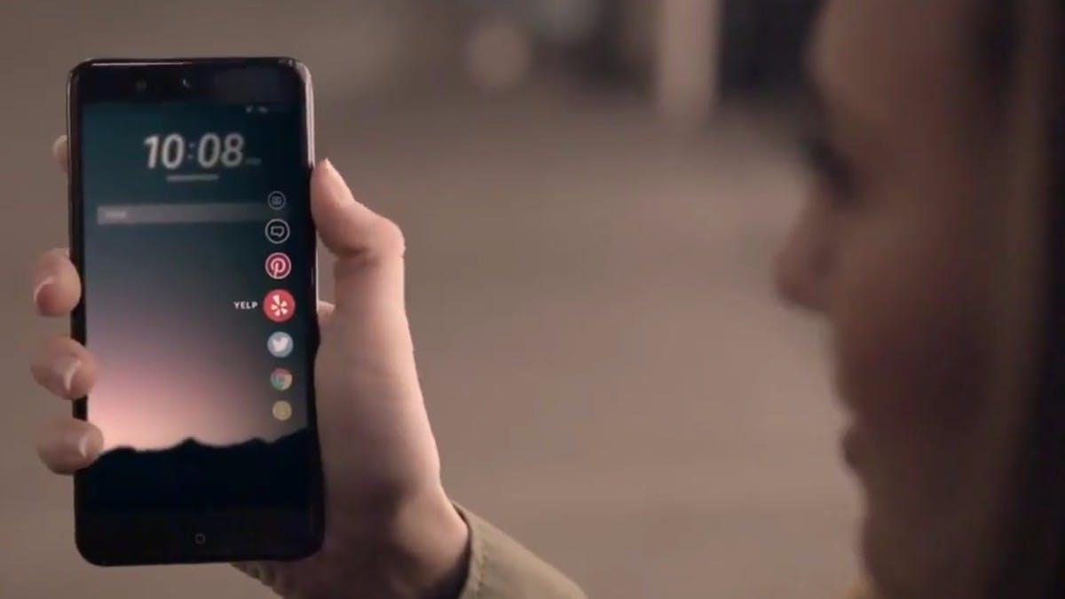 """HTC U 11 """"Ocean"""":  Nachfolger des HTC 10 mit touchsensitivem Rahmen kommt im Mai"""
