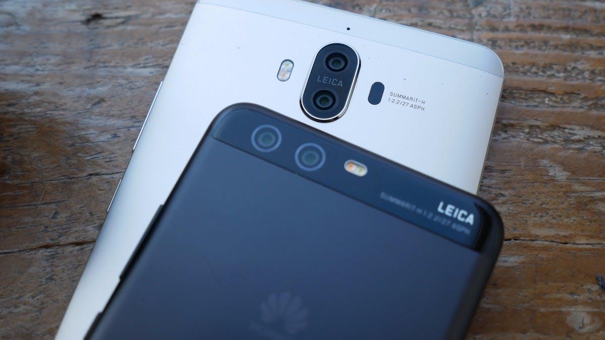 Das Huawei P10 und das  Mate 9 sind die aktuellen Topmodelle des Unternehmens. (Foto: t3n)