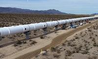 So sieht die Hyperloop-Teststrecke in Nevada aus