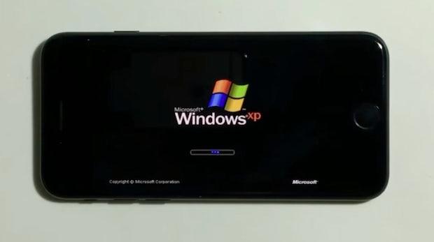 Weil es geht: Student bringt Windows XP auf sein iPhone 7