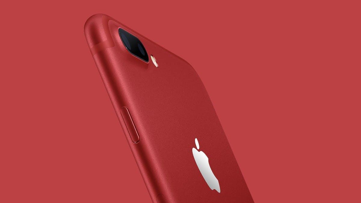 iPhone 7 und iPhone 7 Plus gibt es jetzt auch in rot