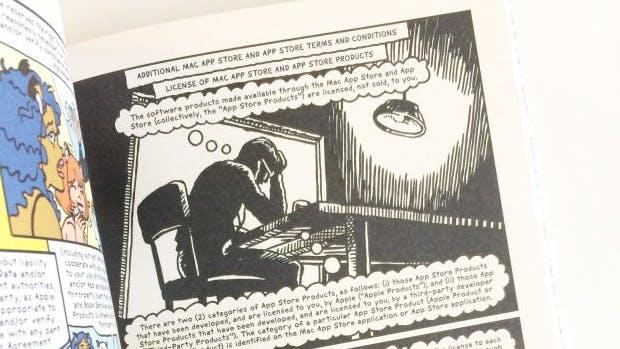 Weil ihr die eh nur wegklickt: Künstler macht Comic aus iTunes-Geschäftsbedingungen