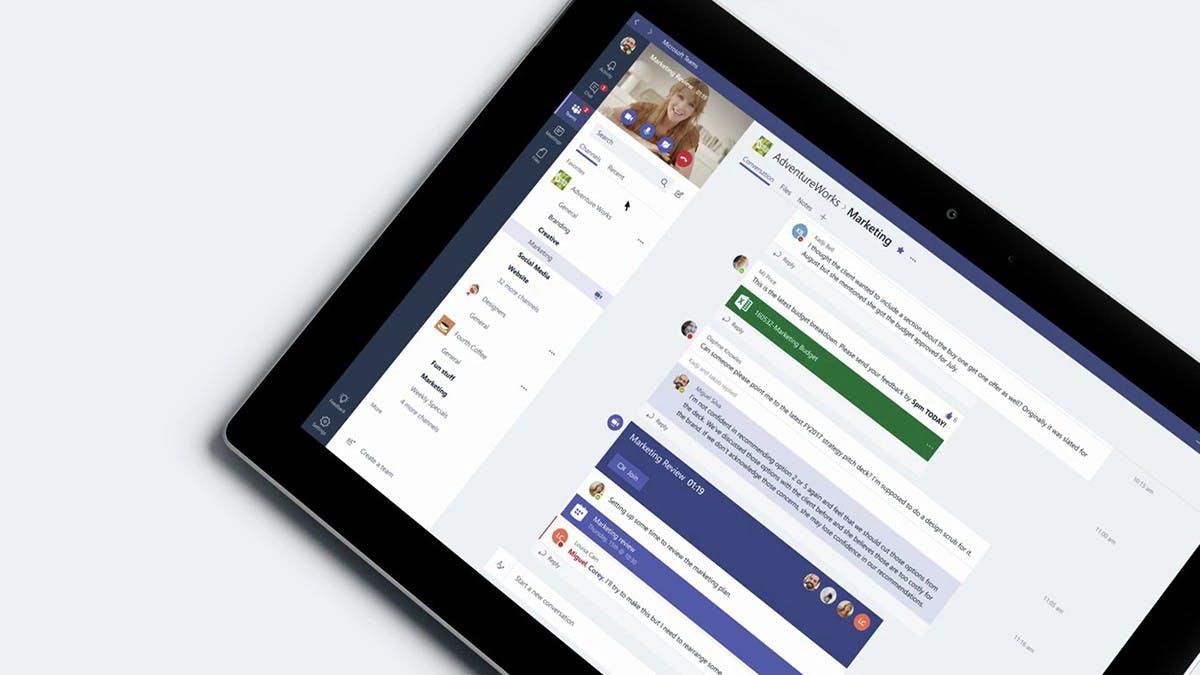 Kampf der Chat-Apps: Microsoft Teams überflügelt Slack und Google Hangouts