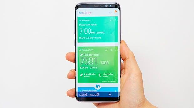 Samsung gibt seinen Sprachassistenten Bixby für Deutschland frei –  mit Einschränkungen