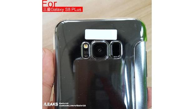"""Auf der Rückseite des Galaxy S8 ist deutlich der Fingerabdruckscanner zu erkennen – und keine Dual-Kamera. (Foto: <a href=""""http://www.slashleaks.com/l/crystal-clear-new-galaxy-s8-and-galaxy-s8-pictures"""">via Slashleaks</a>)"""